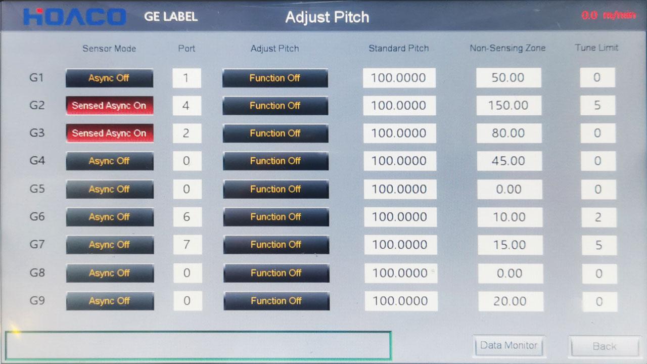 Adjust Pitch